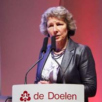 Presentatie van Birgit Hendriks tijdens TripleX